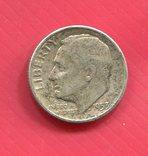 США 10 центов (дайм) 1953, фото №2