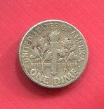 США 10 центов (дайм) 1953, фото №3