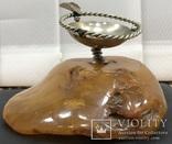 Пепельница из натурального прибалтийского янтаря - 357 грамм photo 2