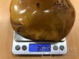 Пепельница из натурального прибалтийского янтаря - 357 грамм photo 11