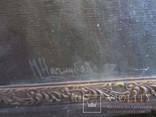 """""""Tолстой"""" портрет холст масло Подпись художника. photo 4"""