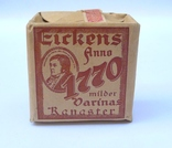 Немецкий трубочный табак на акцизе орёл со свастикой. III Рейх.