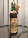 Вино. Портвейн белый Сурож. Массандра. 0,7 л. Урожая 1969 г.
