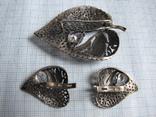Комплект   серебро 925пр. фионит   вес - 18г, фото №3
