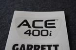 Наклейки Garrett ACE 400і, фото №3