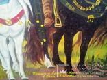 Картина Три богатыря . Маслом на холсте .. копия, фото №4