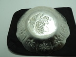 Тарелка блюдо фруктовница миниатюрная 18см металл Новосибирск, фото №6