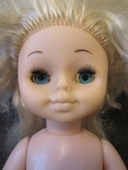 Кукла СССР 52см с длинными волосами., фото №6