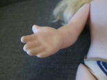 Кукла СССР 52см с длинными волосами., фото №9