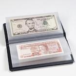 Альбом для банкнот на 20 листов с чистыми листами лехтурм германия, фото №3