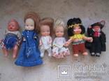 6 маленьких кукол одним лотом., фото №2