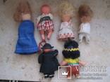 6 маленьких кукол одним лотом., фото №4