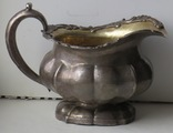 Серебряный молочник, 84 –ой пробы, СПБ, 1848 год, ювелир Сохка Томас., фото №4