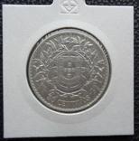 Португалия 50сентаво1914 серебро