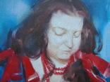 """Голубятникова Я.В. """"Девушка с корзиной яблок"""" 100см х 80см, фото №3"""