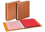 Комплект Linder 1106Е-H. Монетный альбом Classic система Karat. Коричневый.