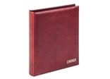 Комплект Linder 1106Е-W. Монетный альбом Classic система Karat. Вишнёвый. фото 3