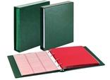 Комплект Linder 1106Е-G. Монетный альбом Classic система Karat. Зелёный.