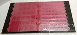 Папка-переплёт Half Penny c 10 нумизматическими листами Lindner 3107E-D коричневый фото 3