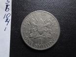 1 шиллинг 1974 Кения   (10.4.1)~, фото №2