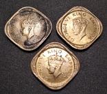 1/2 Анны Британской Индии 1943 и 1944 годов photo 2