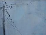 """Голубятникова Я.В. """"Церковь в с.Александровка. Туман"""" 60см х 40см, фото №5"""