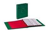 Папка-переплёт Half Penny c 10 нумизматическими листами Lindner 3107-G. Зелёный. фото 2