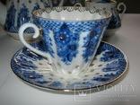 Комплект ( сервиз) чайный ЛФЗ. Корзиночка, фото №5