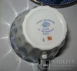 Комплект ( сервиз) чайный ЛФЗ. Корзиночка, фото №7