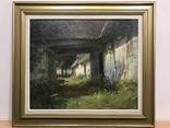 Картина сельского пейзажа датского художника Søren Melchior Hansen (1908-1978)