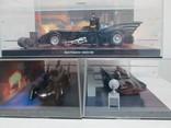 Модели машин бэтмена (batman) разных лет произведений