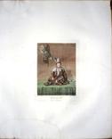 Гравюра 1810 года ,Ташкентская баба( узбечка), автор Е.М. Корнеев photo 2