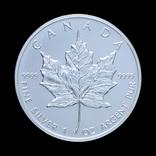 5 Долларов 1989 Кленовый Лист, Канада Унция