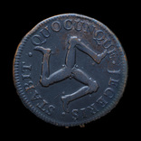 1 Пенни 1758, Остров Мэн