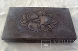 Серебряная шкатулка, 265 грамм., фото №2