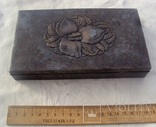 Серебряная шкатулка, 265 грамм., фото №3
