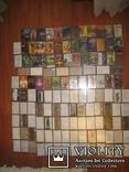 Аудиокассеты тяжелый рок зарубежного и отечественного 129 шт, фото №2