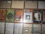 Аудиокассеты тяжелый рок зарубежного и отечественного 129 шт, фото №7