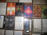 Аудиокассеты тяжелый рок зарубежного и отечественного 129 шт, фото №8