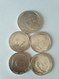 5 монет третьего рейха