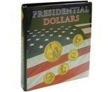 """Иллюстрированный альбом """"PRESIDENTIAL DOLLAR"""". Lindner 1106 PD."""