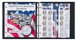 """Иллюстрированный альбом для квотеров серии""""AMERICA THE BEAUTIFUL"""". Lindner 1106 ABQ. фото 2"""