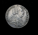 Великобритания шиллинг 1787 аUnc серебро