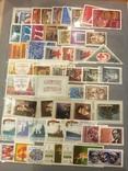 Большой альбом №2 марок, серий, листов СССР 1959-1991 гг. Около 920 шт.