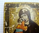 Икона Богородицы 10,9*8,7 см. photo 2