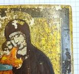 Икона Богородицы 10,9*8,7 см. photo 3