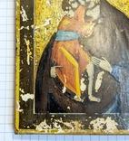 Икона Богородицы 10,9*8,7 см. photo 4