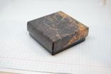 Коробочка для украшений. 68х68х25мм, фото №4