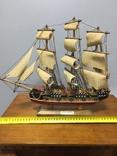 Модель корабля Bergantin, фото №2