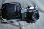 Фотоаппарат REVUEFLEX E (Зенит - Е), экспортный выпуск.